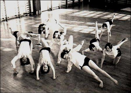 Gymnasium girls